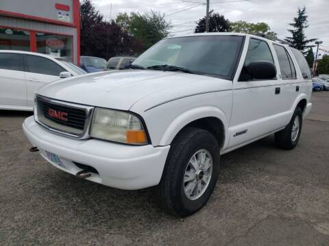2002 GMC Jimmy for sale at A1 Group Inc in Portland OR