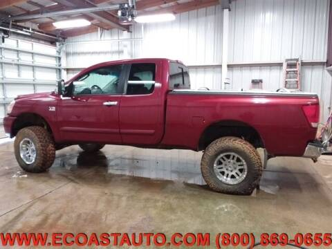 2004 Nissan Titan for sale at East Coast Auto Source Inc. in Bedford VA