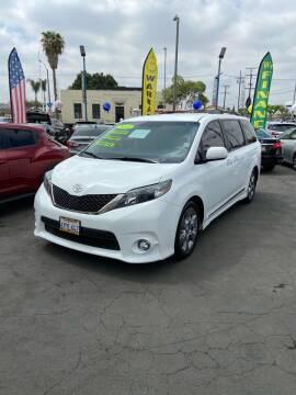 2013 Toyota Sienna for sale at LA PLAYITA AUTO SALES INC - 3271 E. Firestone Blvd Lot in South Gate CA