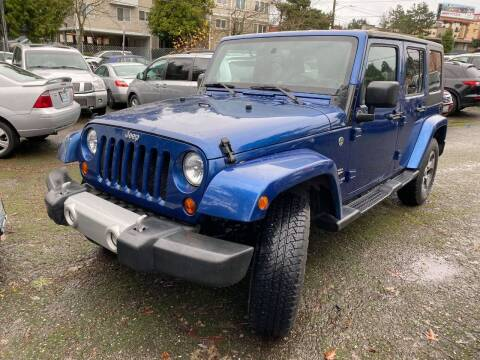 2010 Jeep Wrangler Unlimited for sale at SNS AUTO SALES in Seattle WA
