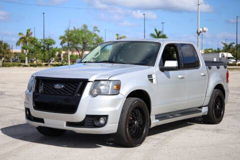 2010 Ford Explorer Sport Trac for sale at Easy Deal Auto Brokers in Hollywood FL