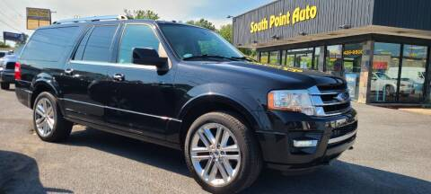 2015 Ford Expedition EL for sale at South Point Auto Plaza, Inc. in Albany NY