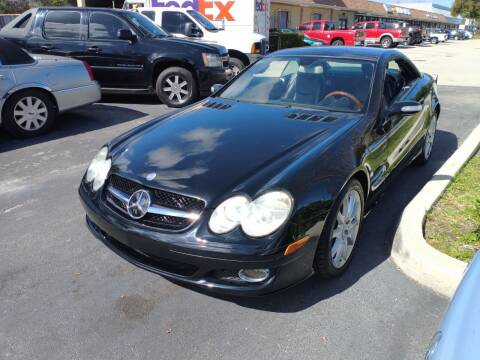 2007 Mercedes-Benz SL-Class for sale at LAND & SEA BROKERS INC in Deerfield FL