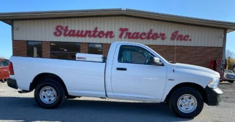 2014 RAM Ram Pickup 1500 for sale at STAUNTON TRACTOR INC in Staunton VA