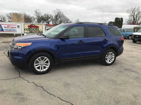 2015 Ford Explorer for sale at Cordova Motors in Lawrence KS