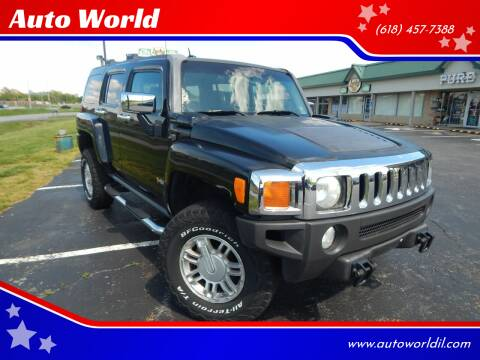 2006 HUMMER H3 for sale at Auto World in Carbondale IL