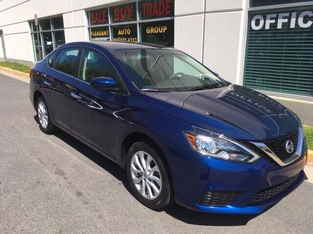 2019 Nissan Sentra for sale at Pleasant Auto Group in Chantilly VA