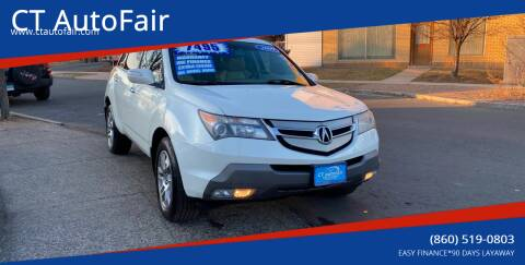 2009 Acura MDX for sale at CT AutoFair in West Hartford CT