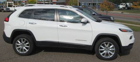 2015 Jeep Cherokee for sale at AUTOHAUS in Tomahawk WI