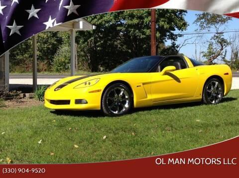 2008 Chevrolet Corvette for sale at Ol Man Motors LLC in Louisville OH