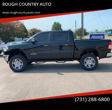 2019 RAM Ram Pickup 1500 for sale at ROUGH COUNTRY AUTO in Dyersburg TN