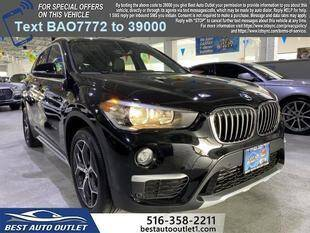 2017 BMW X1 for sale at Best Auto Outlet in Floral Park NY