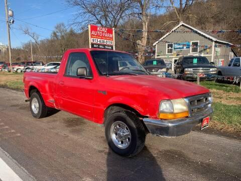 1998 Ford Ranger for sale at Korz Auto Farm in Kansas City KS