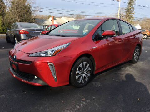 2019 Toyota Prius for sale at Delafield Motors in Glenville NY