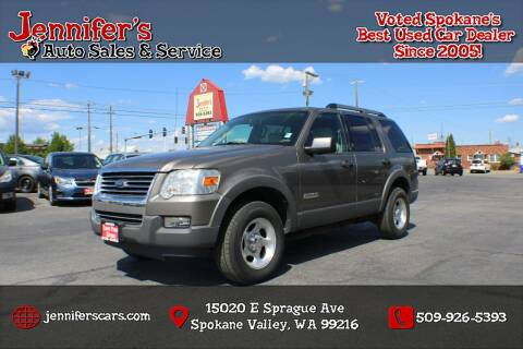 2006 Ford Explorer for sale at Jennifer's Auto Sales in Spokane Valley WA