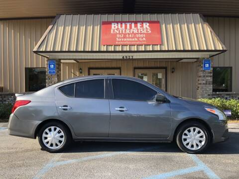 2016 Nissan Versa for sale at Butler Enterprises in Savannah GA
