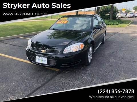 2011 Chevrolet Impala for sale at Stryker Auto Sales in South Elgin IL