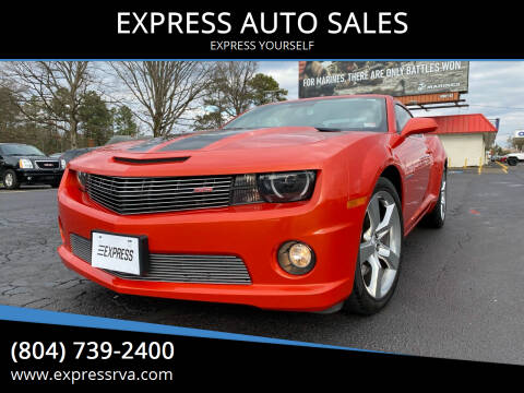 2010 Chevrolet Camaro for sale at EXPRESS AUTO SALES in Midlothian VA