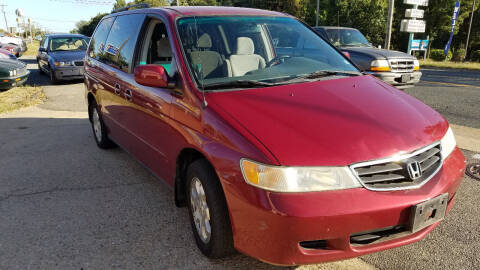 2003 Honda Odyssey for sale at PRESTIGE MOTORS in Fredericksburg VA