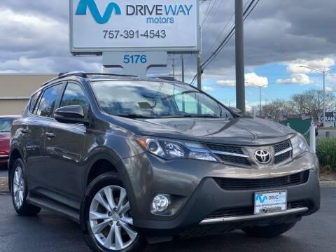 2013 Toyota RAV4 for sale at Driveway Motors in Virginia Beach VA