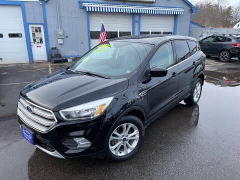 2017 Ford Escape for sale at Bridge Road Auto in Salisbury MA