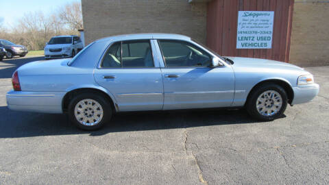 2007 Mercury Grand Marquis for sale at LENTZ USED VEHICLES INC in Waldo WI