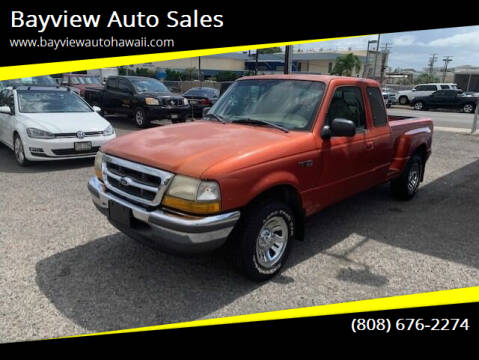 1998 Ford Ranger for sale at Bayview Auto Sales in Waipahu HI