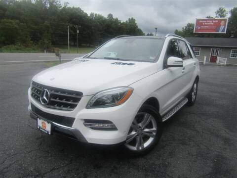 2015 Mercedes-Benz M-Class for sale at Guarantee Automaxx in Stafford VA