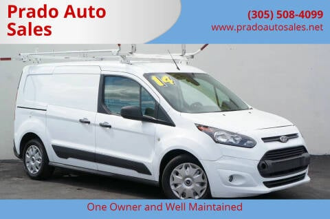 2014 Ford Transit Connect Cargo for sale at Prado Auto Sales in Miami FL