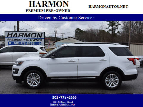 2016 Ford Explorer for sale at Harmon Premium Pre-Owned in Benton AR