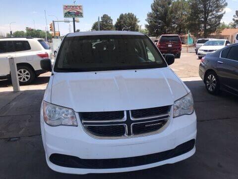 2017 Dodge Grand Caravan for sale at Fiesta Motors Inc in Las Cruces NM