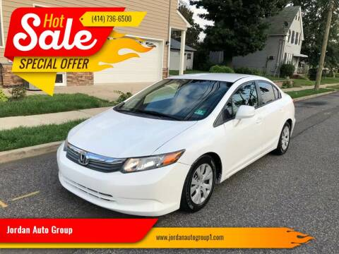 2012 Honda Civic for sale at Jordan Auto Group in Paterson NJ