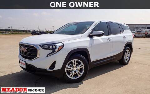2019 GMC Terrain for sale at Meador Dodge Chrysler Jeep RAM in Fort Worth TX