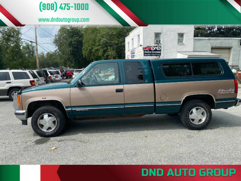 1997 GMC Sierra 1500 for sale at DND AUTO GROUP in Belvidere NJ