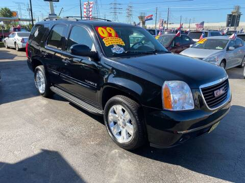 2009 GMC Yukon for sale at Texas 1 Auto Finance in Kemah TX