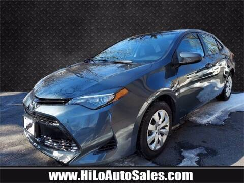 2017 Toyota Corolla for sale at Hi-Lo Auto Sales in Frederick MD