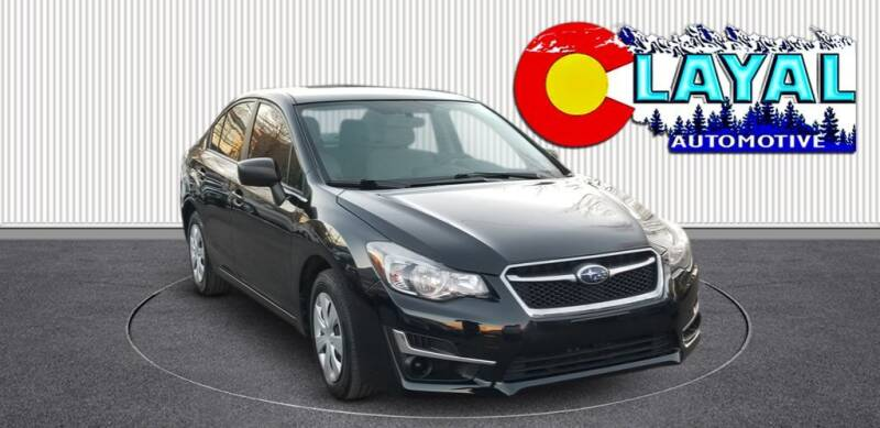 2016 Subaru Impreza for sale at Layal Automotive in Englewood CO