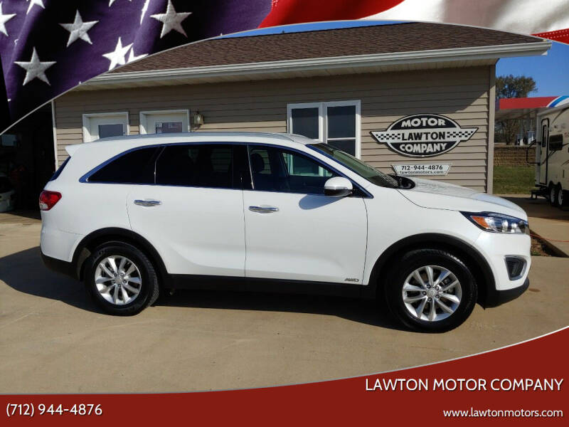 2016 Kia Sorento for sale at Lawton Motor Company in Lawton IA