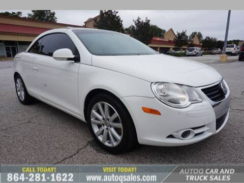 2007 Volkswagen Eos for sale at Auto Q Car and Truck Sales in Mauldin SC