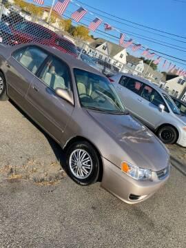 2002 Toyota Corolla for sale at Bob Luongo's Auto Sales in Fall River MA