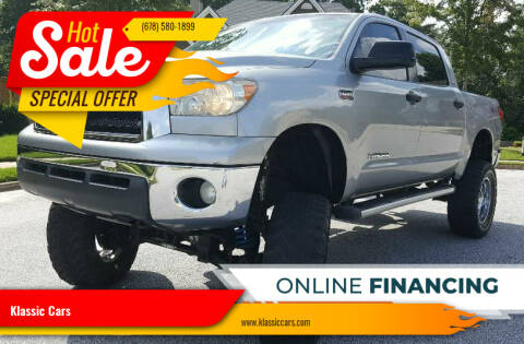 2008 Toyota Tundra for sale at Klassic Cars in Lilburn GA