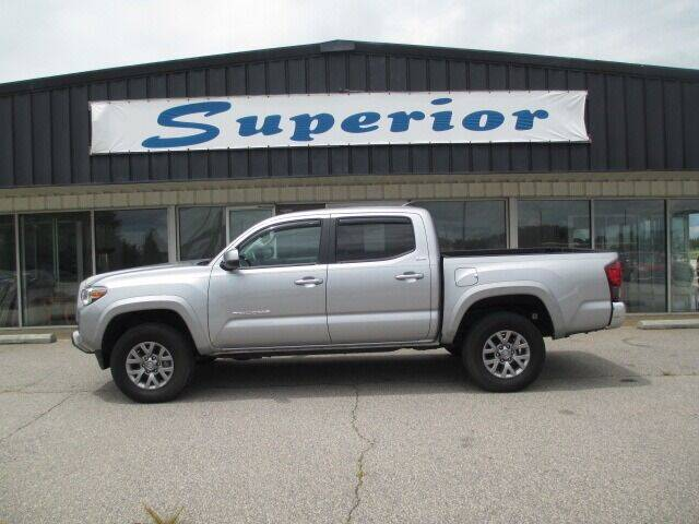2018 Toyota Tacoma for sale at SUPERIOR CHRYSLER DODGE JEEP RAM FIAT in Henderson NC