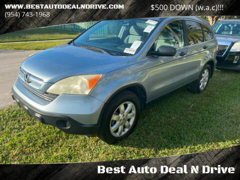 2008 Honda CR-V for sale at Best Auto Deal N Drive in Hollywood FL