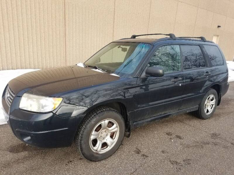 2007 Subaru Forester for sale at Capital Fleet  & Remarketing  Auto Finance in Columbia Heights MN