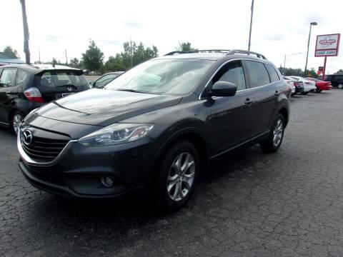 2014 Mazda CX-9 for sale at DAVE KNAPP USED CARS in Lapeer MI