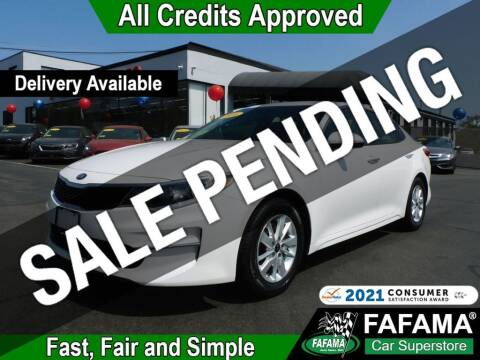 2016 Kia Optima for sale at FAFAMA AUTO SALES Inc in Milford MA