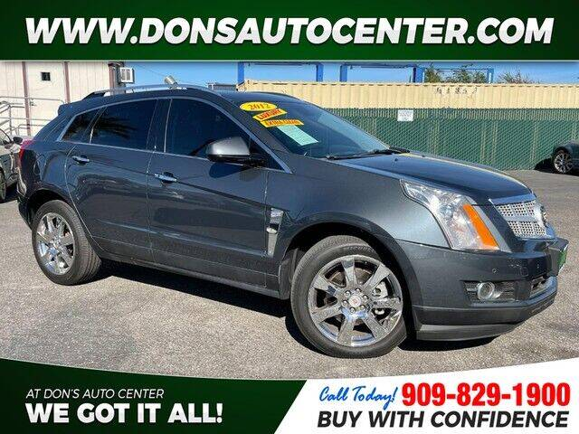 2012 Cadillac SRX for sale at Dons Auto Center in Fontana CA
