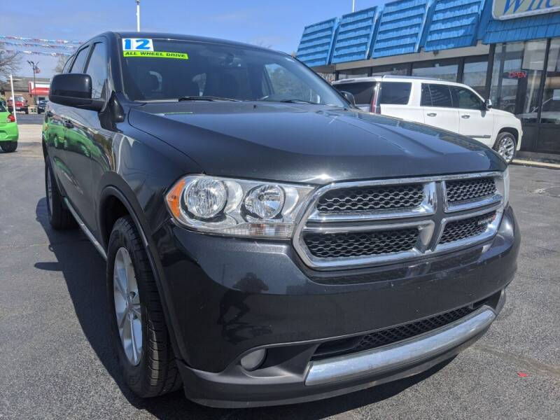 2012 Dodge Durango for sale at GREAT DEALS ON WHEELS in Michigan City IN