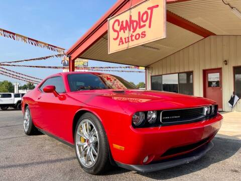 2013 Dodge Challenger for sale at Sandlot Autos in Tyler TX
