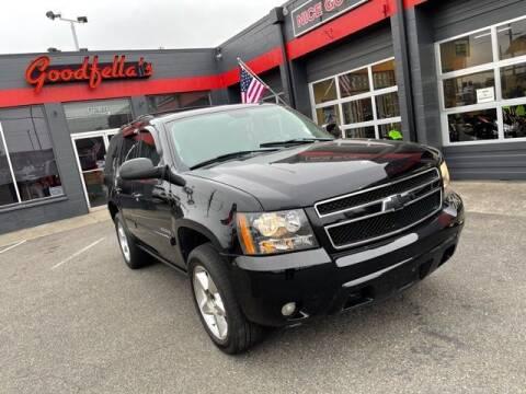 2007 Chevrolet Tahoe for sale at Goodfella's  Motor Company in Tacoma WA